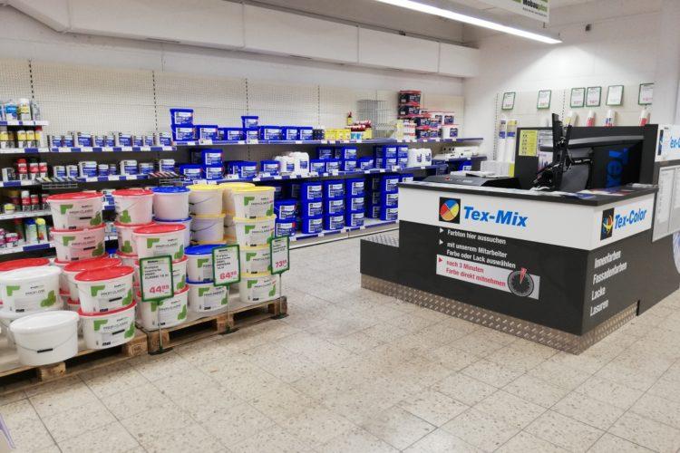 Neue Farbenabteilung in Leverkusen