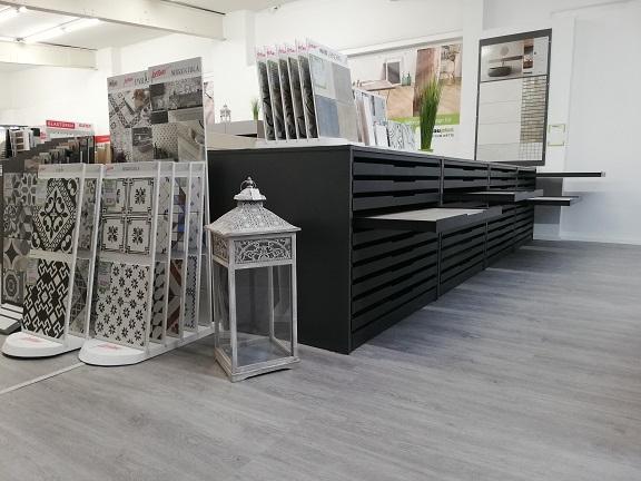 Neue Fliesenausstellung in Leverkusen